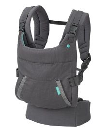 Infantino Cuddle Up Ergonomic Hoodie 2 Way Carrier - Grey