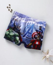 Marvel Swimming Trunks Avengers Print - Multi Colour