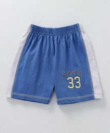 Ollypop Shorts Basketball Print - Blue