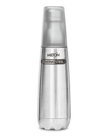 Milton Thermosteel Bottle With Tumbler Glass Silver - 750 ml