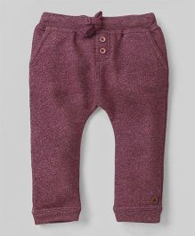 UFO Pants With Knots - Maroon