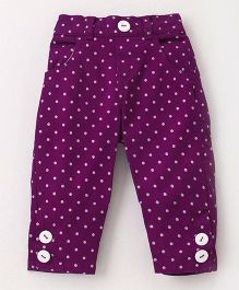 UFO Polka Dot Pant - Purple
