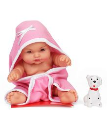 Speedage Sunny Baba Doll With Pet Pink - Height 25.5 cm