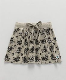 SoLittle- Floral Allover Printed Skirt - Grey