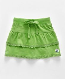 SoLittle Green Layered Skirt - Green