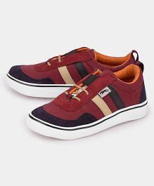 JUMP USA Smart Suede Sneakers - Red