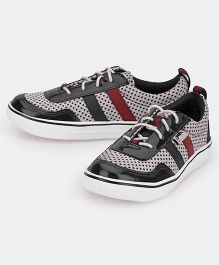JUMP USA Smart Knitted Sneakers - Black & Grey