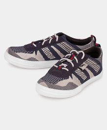 JUMP USA Smart Knitted Sneakers - Blue & Grey