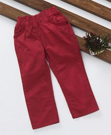 Olio Kids Full Length Pant - Red