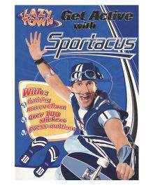 Get Active with Sportacus Activity Book - English