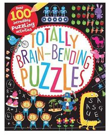 Totally Brain Bending Puzzles Book - English