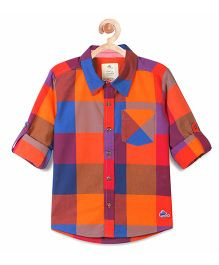 Cherry Crumble California Classic Contrast Shirt - Multicolor