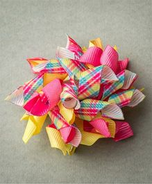 Ribbon Candy Check Korkers - Pink & Yellow