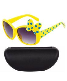 Kidofash Polka Dot Design Sunglasses - Yellow