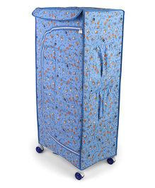 Mothertouch My Wardrobe With Wheels Multi Print - Blue