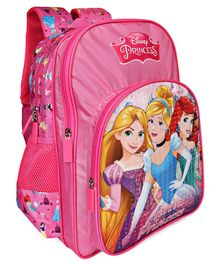 Disney Princess School Bag With Padded Straps Pink - 12 Inches