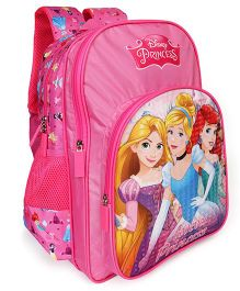 Disney Princess School Bag With Padded Straps Pink - 16 Inches
