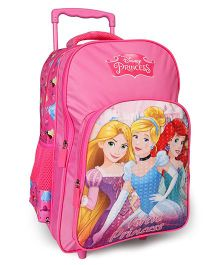 Disney Princess Trolley School Bag Pink - 18 Inches