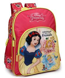 Disney Princess School Bag Pink Yellow - 16.1 inches
