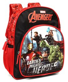 Marvel Avengers School Bag Red Black - 11.8 inches