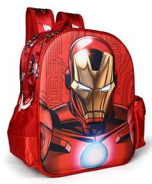 Marvel Avengers Iron Man School Bag Red - 14 inches