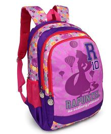 Disney Rapunzel School Bag R10 Print Purple - 19 Inches