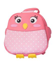 Kidofash Owl Design Bag - Pink