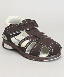 Cute Walk by Babyhug Sandals -  Dark Brown