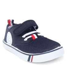 Cute Walk by Babyhug Casual Canvas Shoes - Navy