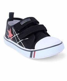 Cute Walk by Babyhug Casual  Canvas Shoes - Navy Blue White