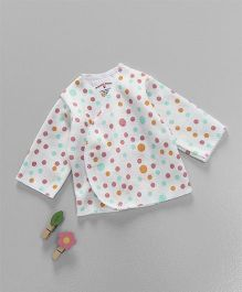 Dear Tiny Baby Long Sleeves Shirt - White