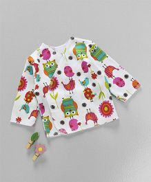 Dear Tiny Baby Printed Shirt Long Sleeve - Multicolor