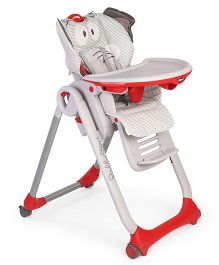 Chicco Polly 2 Start High Chair - Grey