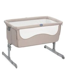 Chicco Next 2 Me Standard Chick To Chick Crib - Grey