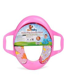 Sunbaby Cushion Potty Seat With Handles - Pink