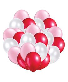 Party Propz Balloons Pink Red White