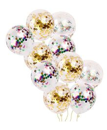 Party Propz Confetti Balloons - Pack Of 10
