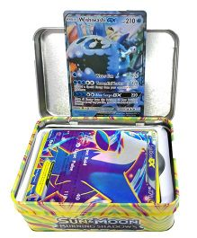 Emob Pokemon Go Sun and Moon Burning Shadows 42 Trading Cards - Multicolour