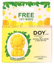 Doy King Samba Soap With Natural Milk Cream & Shea Butter - 75g