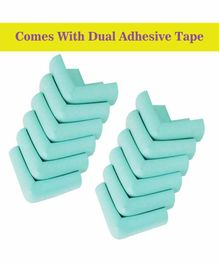 Syga Corner Edge Guard Pack of 12 - Cyan Green