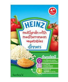 Heinz Multigrain With Mediterranean Vegetables Cereals - 125 gms