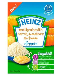 Heinz Multigrain With Carrot Sweetcorn & Cheese - 100 gm