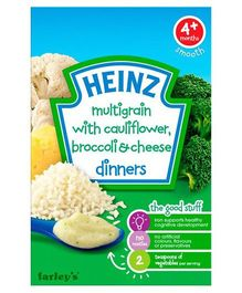 Heinz Multigrain with Cauliflower Brocolli & Cheese - 100 gm