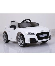 Marktech Audi TT RS Plus Battery Operated Ride On Car - White