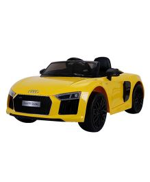 Marktech Audi R8 Spyder Battery Operated Ride On Car - Yellow