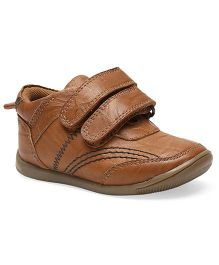 Teddy Toes Roadstar Shoes - Tan