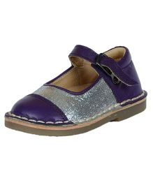 Teddy Toes Dual Tone with Shimmer Ballerina - Purple