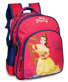 b5557937172d Disney Princess School Bag With Padded Straps Dark Pink - 14 inches