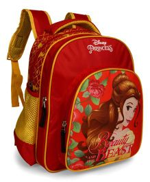 Disney Princess School Bag Red - 18 inches