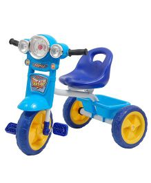 Happykids Tricycle With Flashing Lights - Blue
